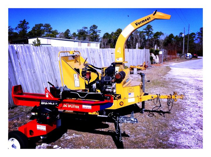 Chipper / log splitter (general-rental.com) GENERAL RENTAL