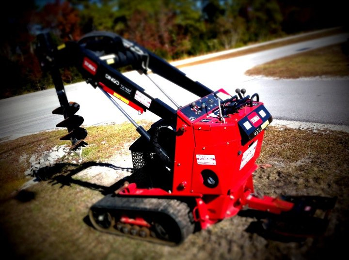 """WALK BEHIND SKID LOADER RENTAL"" ""TORO DINGO"" ""AUGER RENTAL"" ""GENERAL RENTAL"""