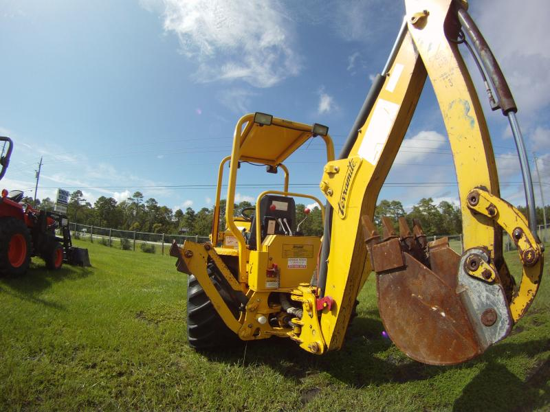 MINI BACKHOE RENTAL