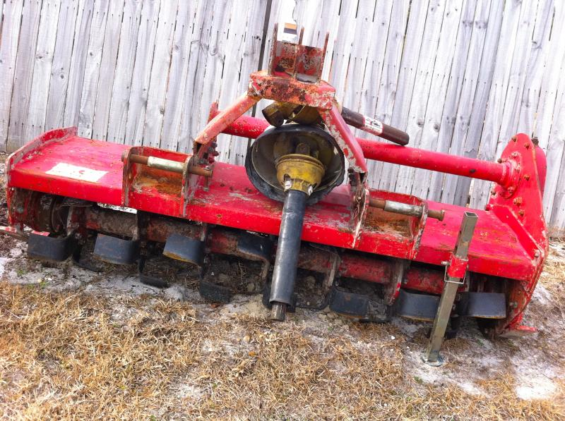 PTO TILLER (TRACTOR ATTACHMENT)