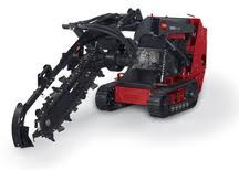 "toro dingo w/ 6"" trencher attachment"